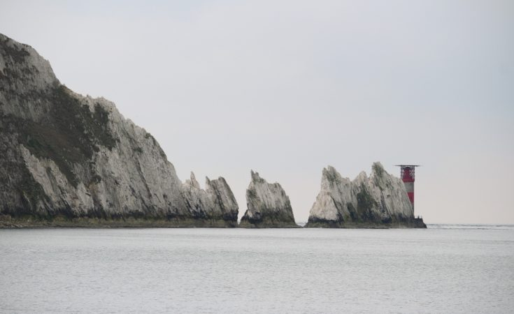 Isle of Wight The Needles, Alum Bay
