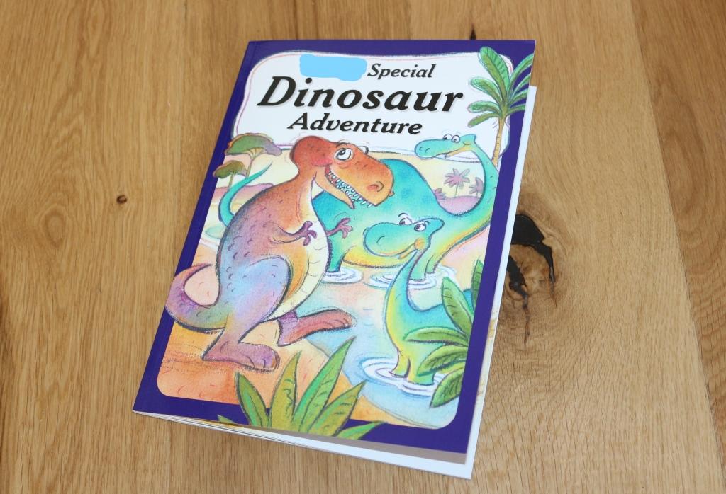 Penwizard dinosaur adventure personalised book - third birthday gift guide