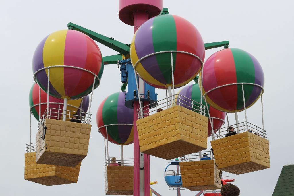 Peppa Pig World: Peppa's Big Balloon ride