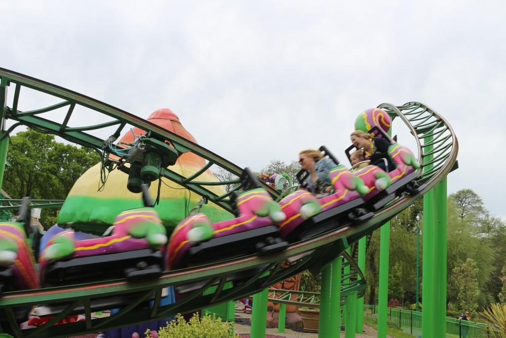 Peppa Pig World - Critter Creek Cat-o-pillar rollercoaster
