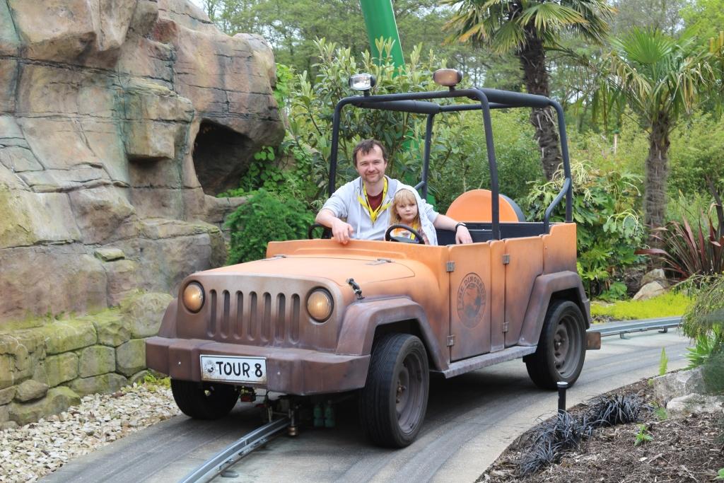 The Dinosaur Tour Co. (Jeep Ride) at Paulton's Park