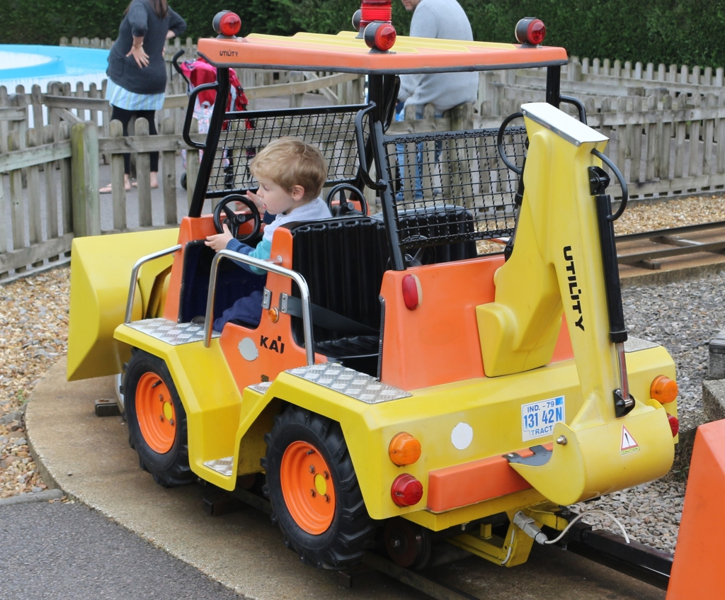 The Digger Ride at Paulton's Park