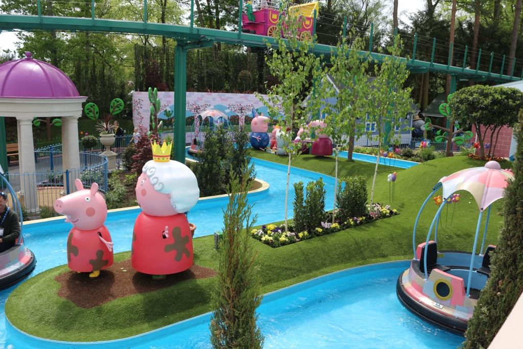 Peppa Pig World new rides: Grampy Rabbit's sailing club