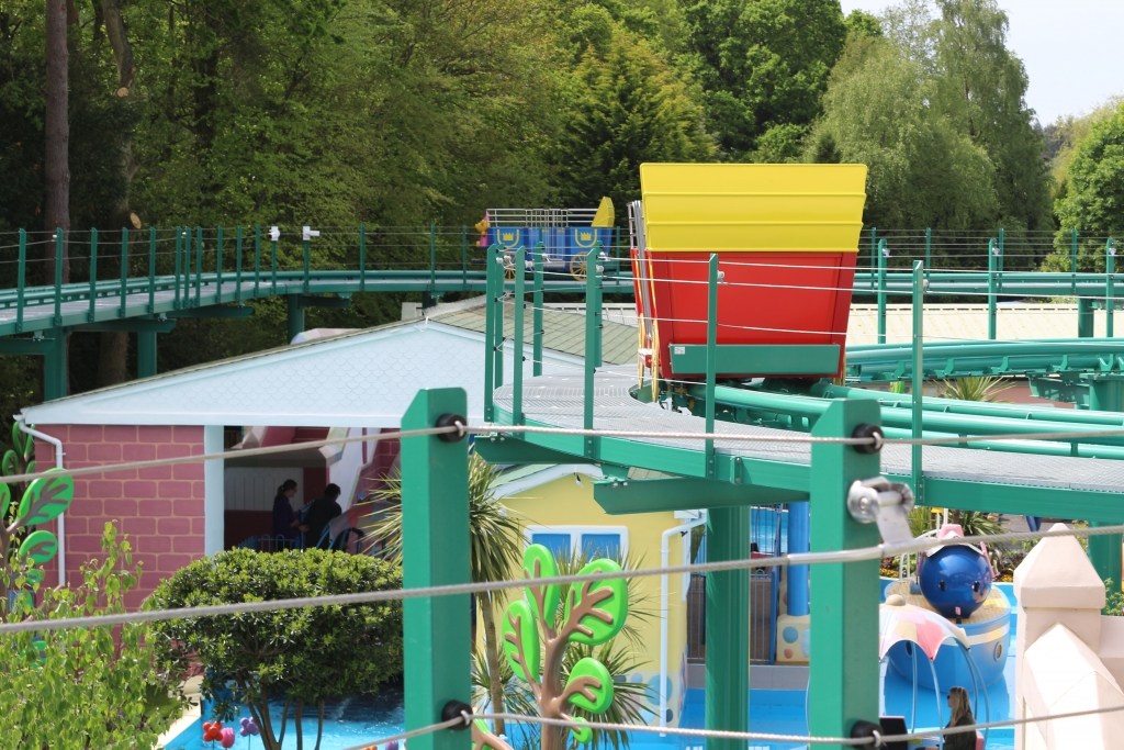Peppa Pig World - new rides: The Queen's Flying Coach Ride