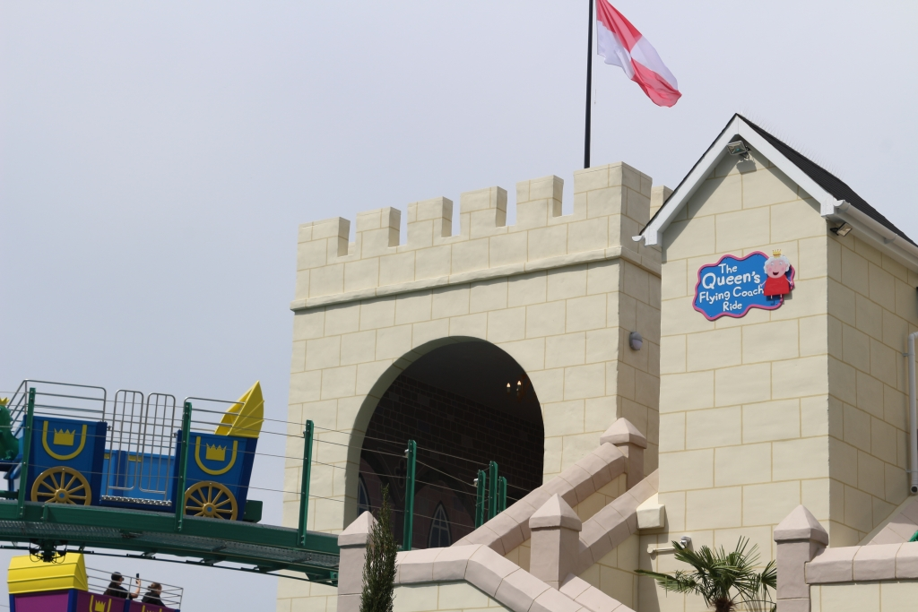 Peppa Pig World new rides: The Queen's Flying Coach Ride