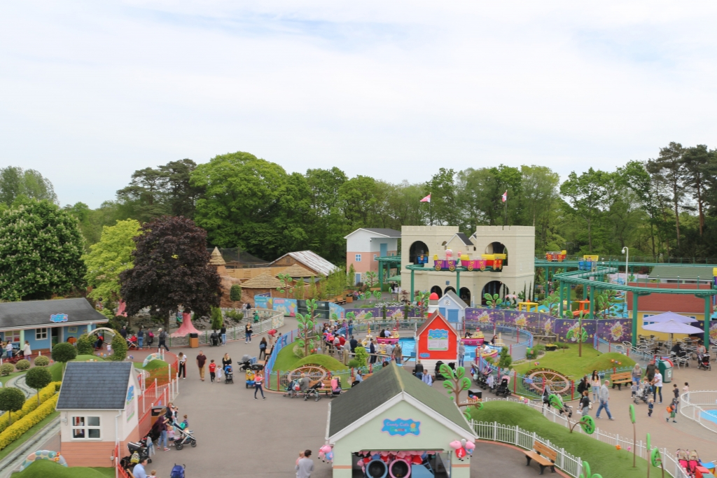 Peppa Pig World - new rides opening 16th May
