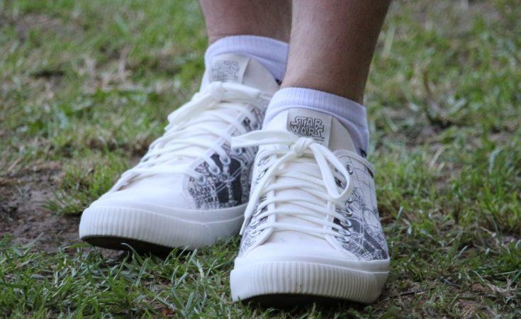 Po-Zu Star Wars Millennium Falcon sneakers