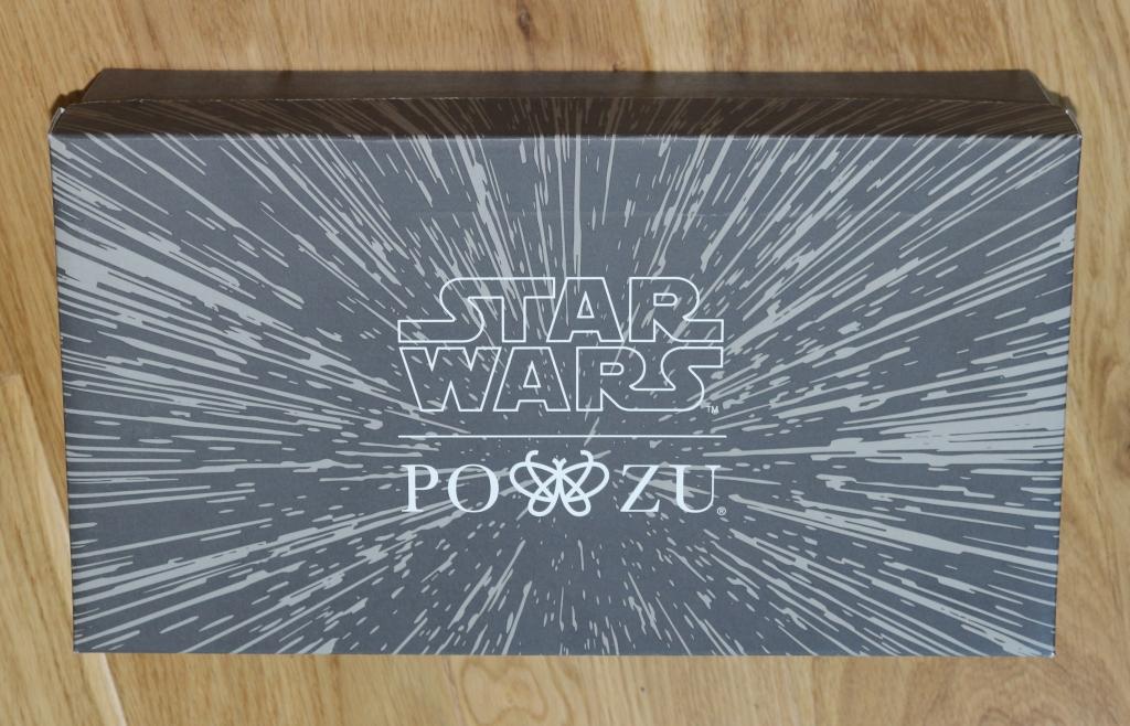 Po-Zu Star Wars Millennium Falcon sneakers trainers shoe box
