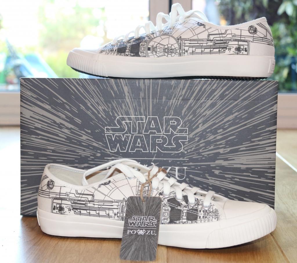 Po-Zu Star Wars Millennium Falcon sneakers trainers