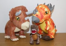 Posh Paws Jurassic World 2 dinosaur plush collection
