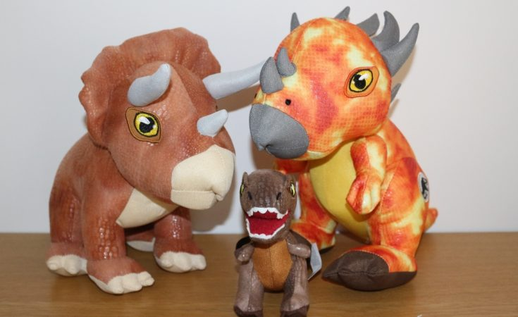Aurora Monkey Stuffed Animal, Posh Paws Jurassic World Two Range Of Dinosaur Soft Toys Review