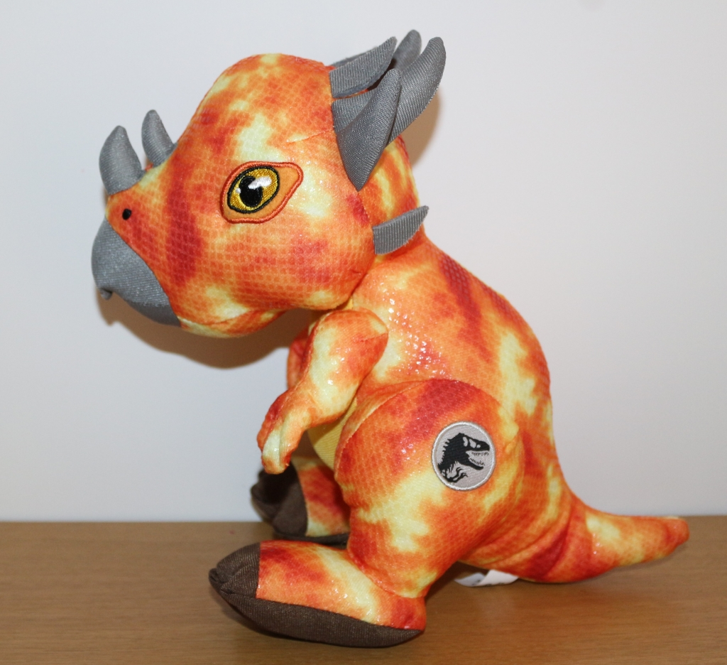 Posh Paws Jurassic World 2 orange dinosaur plush Stygimoloch