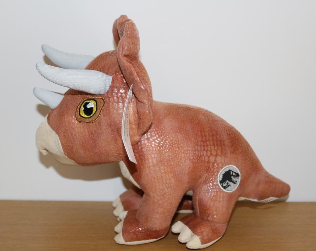 Posh Paws Jurassic World 2 dinosaur plush triceratops