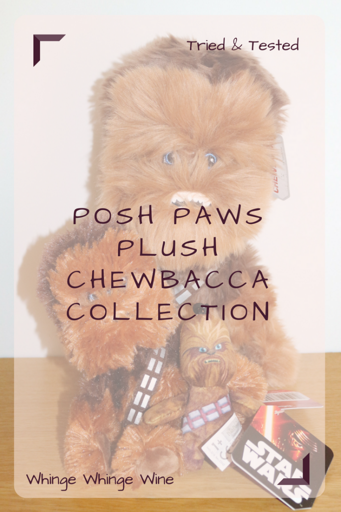Review of the new Posh Paws plush Chewbacca collection to celebrate Solo A Star Wars Story. If you love a cuddly wookiee then these new cuddly soft Star Wars toys will be perfect; for ages 0+ #starwars #chewbacca #wookiee #toys #solo #starwarstoys #chewie