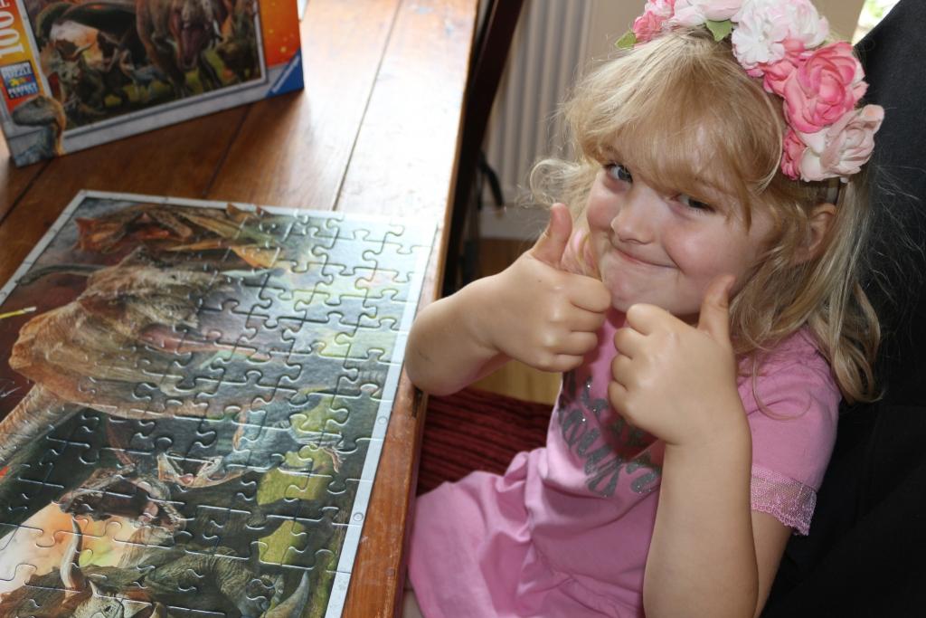 Jurassic Park dinosaur jigsaw for kids