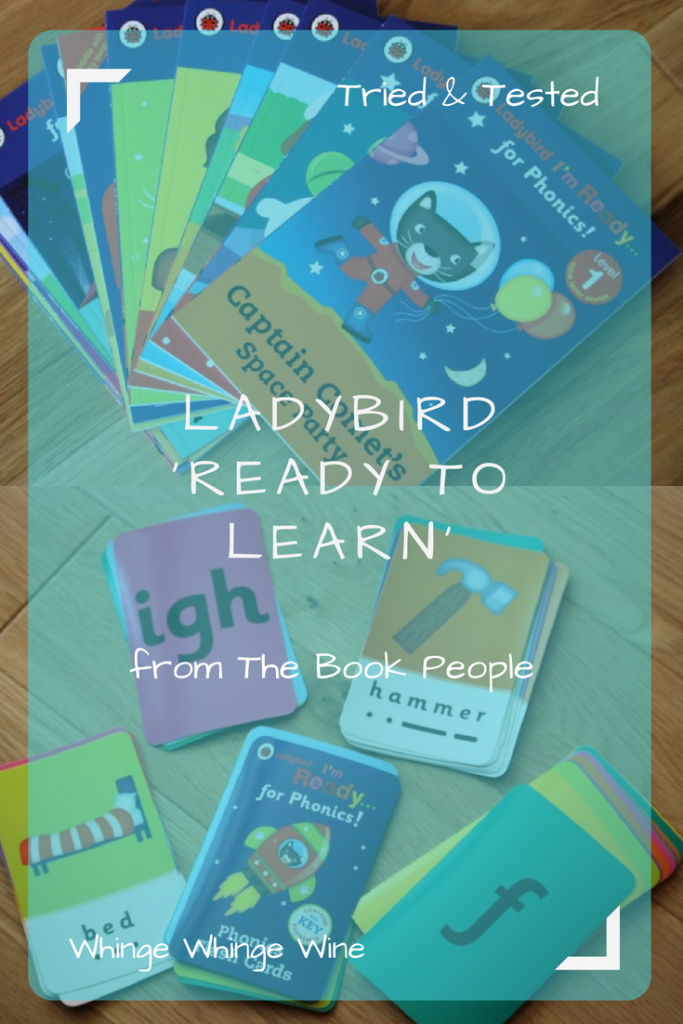 Ready To Learn ladybird books - teach your child phonics and get them ready for school from 3 years old - from the Book People #phonics #teachingaids #preschool #readyforschool #homeschooling #readytolearn