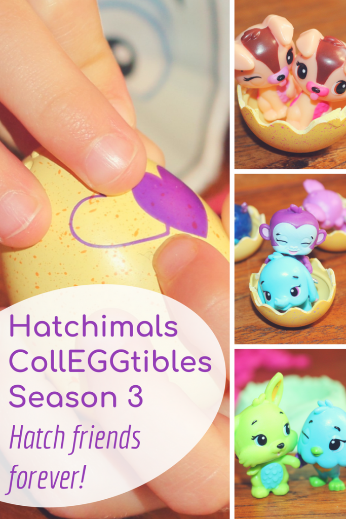 Spinmaster recently released Hatchimals CollEGGtibles Season 3 so you can hatch friends forever! Crack open the Hatchimals collectible eggs to hatch a whole world including twins, best friends and squads! See our Season 3 collector's map/list #hatchimals #hatchimalscolleggtibles #collectibles #toys #reviews #toyreviews #colleggtibles #hatchimal
