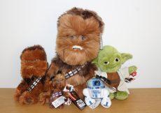 Star Wars Chewbacca Chewie Yoda R2D2 Toys Posh Paws Plush