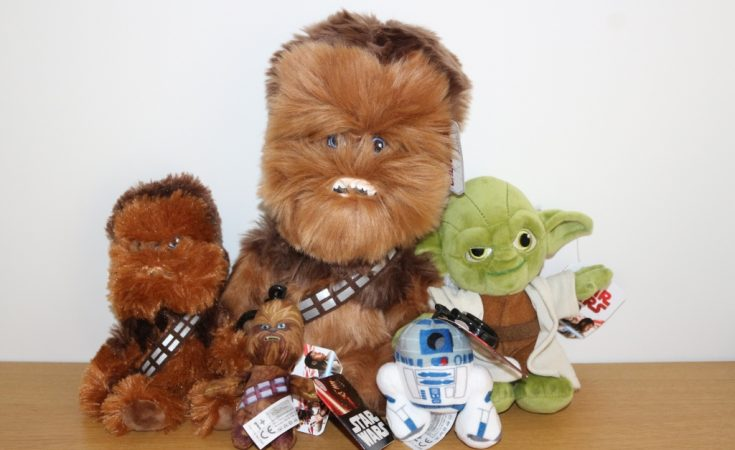 7e73bb5830f Posh Paws plush Chewbacca collection to celebrate Solo  A Star Wars Story