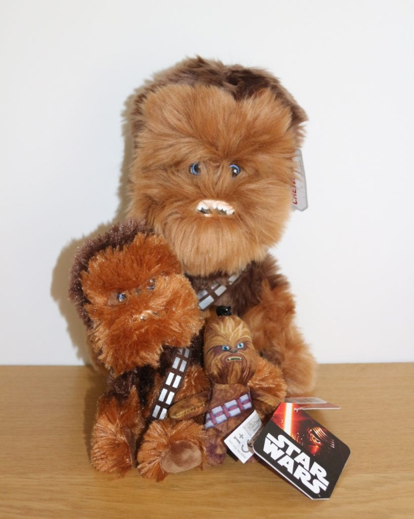 Star Wars Chewbacca Toys Posh Paws Plush (4)