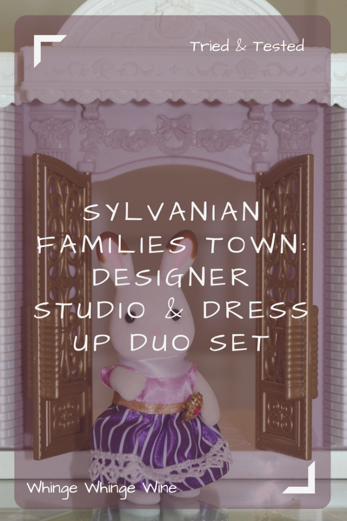 Sylvanian Families Town Designer Studio with Stella the Chocolate Rabbit Big Sister and Dress up duo set - #SylvanianFamilies #toyreviews #toys #sylvanians