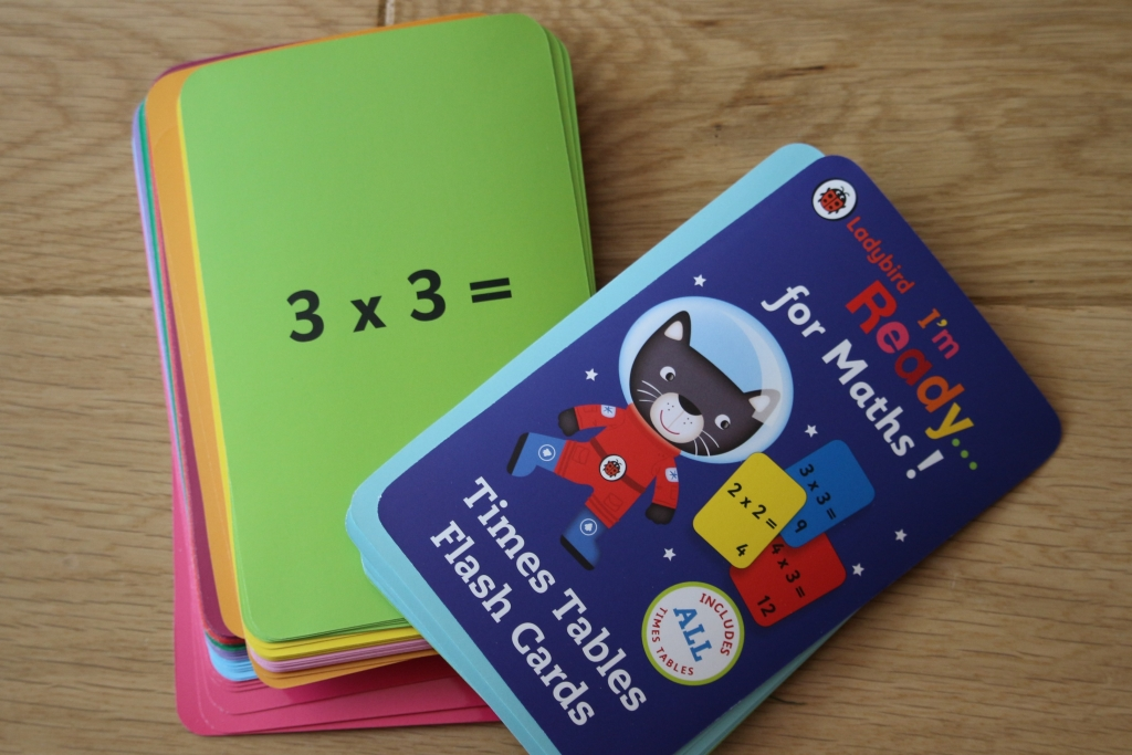 The Book People Review: I'm ready to learn maths flash cards