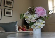 The Tallet, Manor Farm, Rockboune Road, New Forest Hampshire - flowers