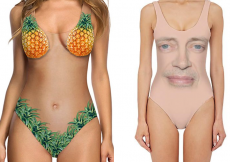 Weirdest swimsuit trends 2018