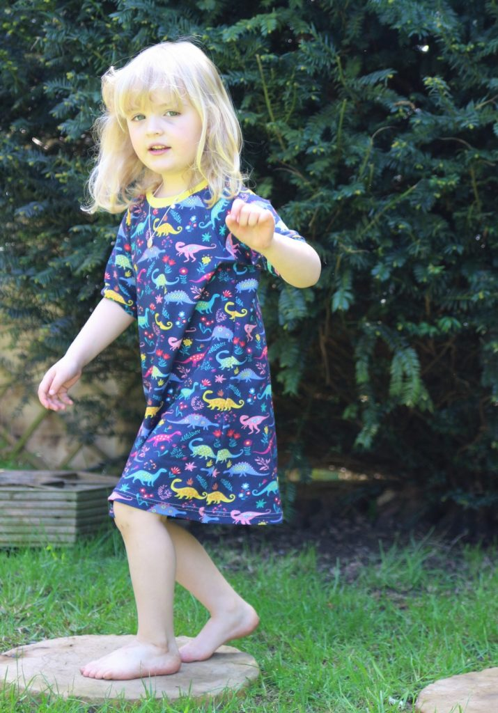 Willow & Friends clothing raglan dress