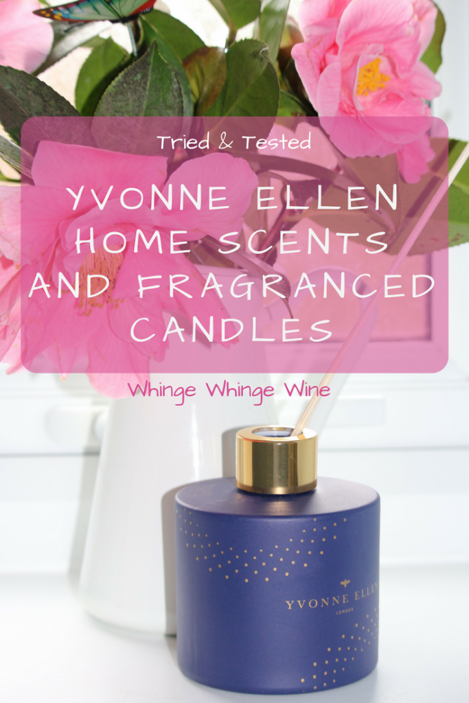 New home scents range; the Yvonne Ellen Wax Lyrical scented candles and reed diffusers are wonderful gifts #homedecor #candles #scentedcandles #giftsforher #mothersday #mothersdaygifts