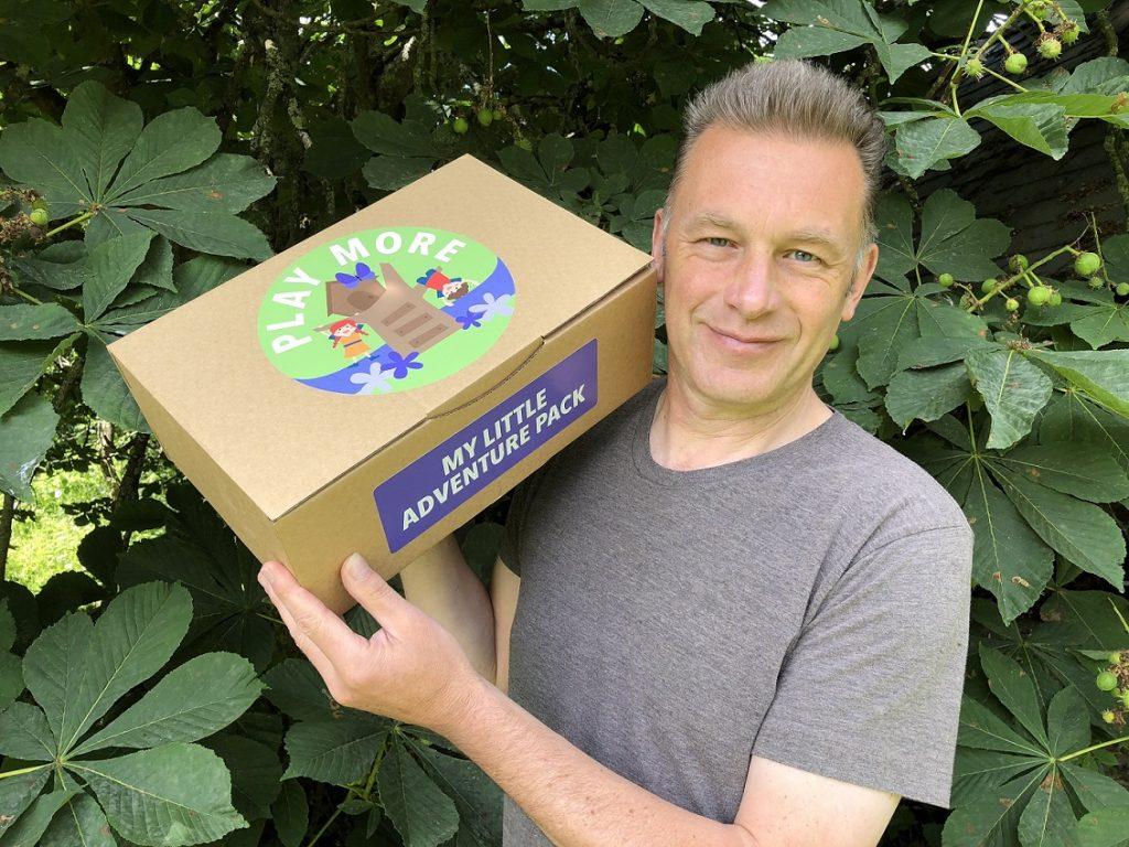 Chris Packham - Play More Sudocrem campaign