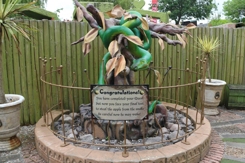Eden's Eye Interactive Maze at Drusillas Park