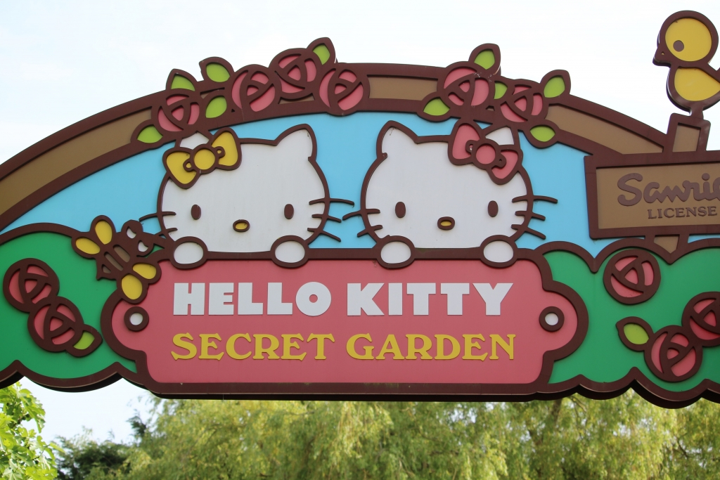 Hello Kitty Secret Garden at Drusillas