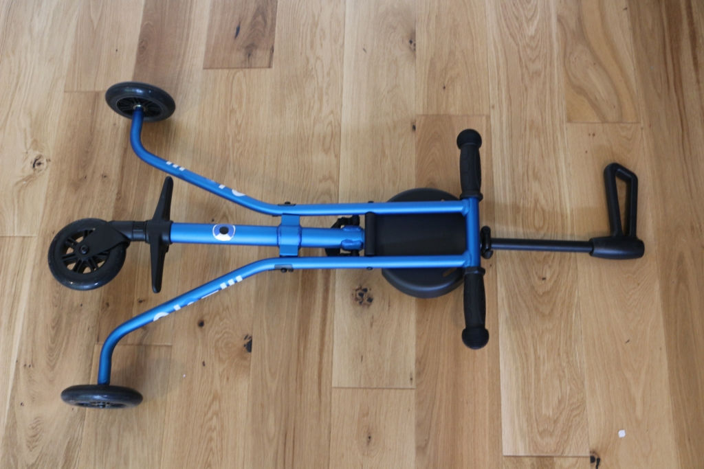 Micro Trike in blue - a review