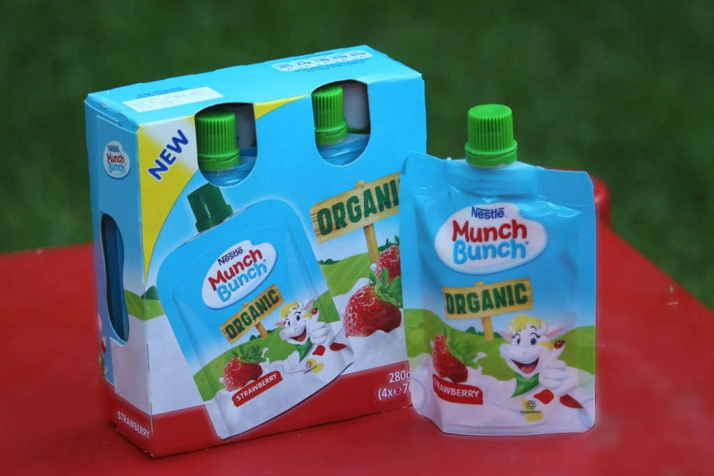 Munch Bunch Organic Pouches