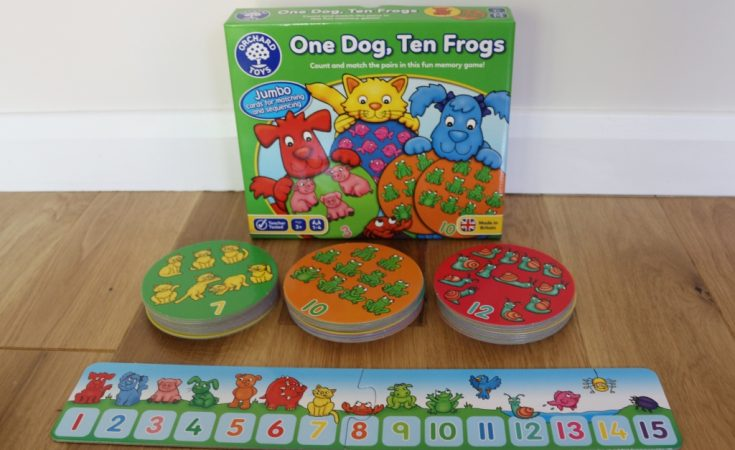 One Dog Ten Frogs Orchard Toys
