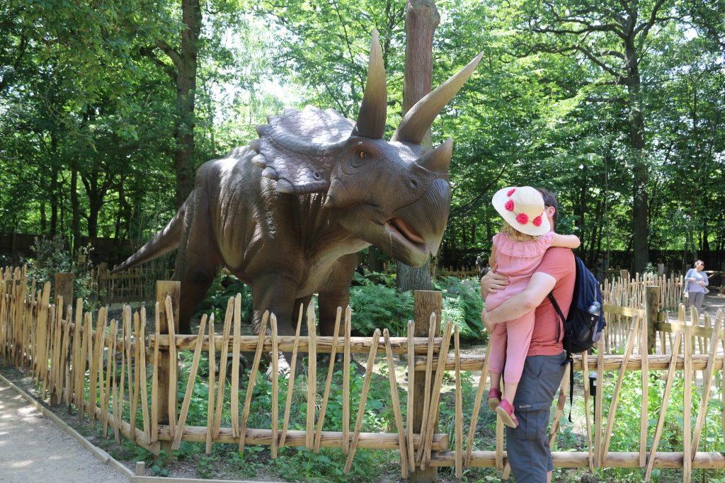 Triceratops World of Dinosaurs at Paradise Wildlife Park