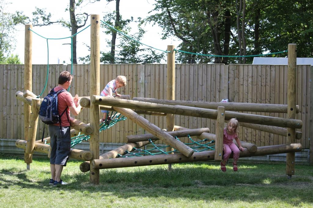 Playground at Paradise Wildlife Park Broxbourne Hertfordshire