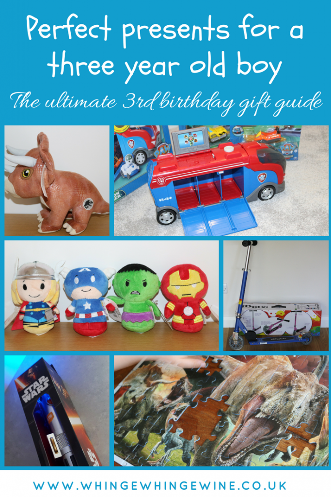 The Ultimate Third Birthday Gift Guide Presents For Three Year Old Boys If You