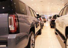 car showroom - buying a car