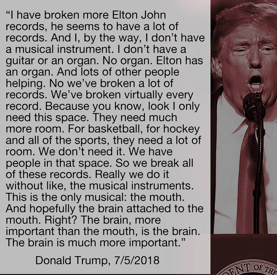 Donald Trump makes less sense than my three year old