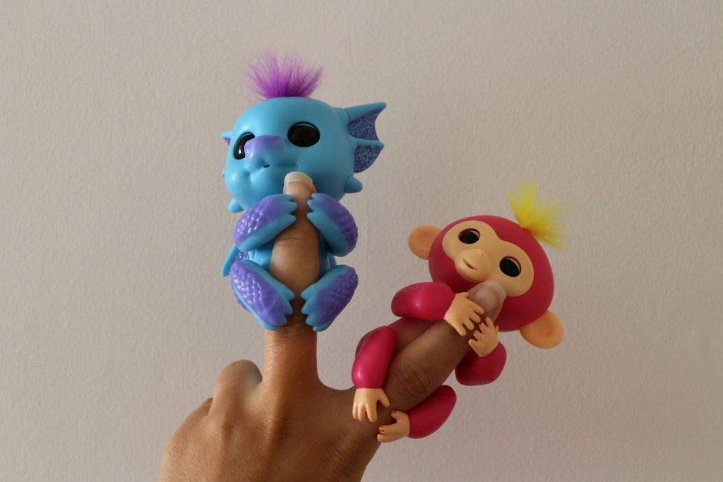 Baby Dragon and Monkey fingerlings