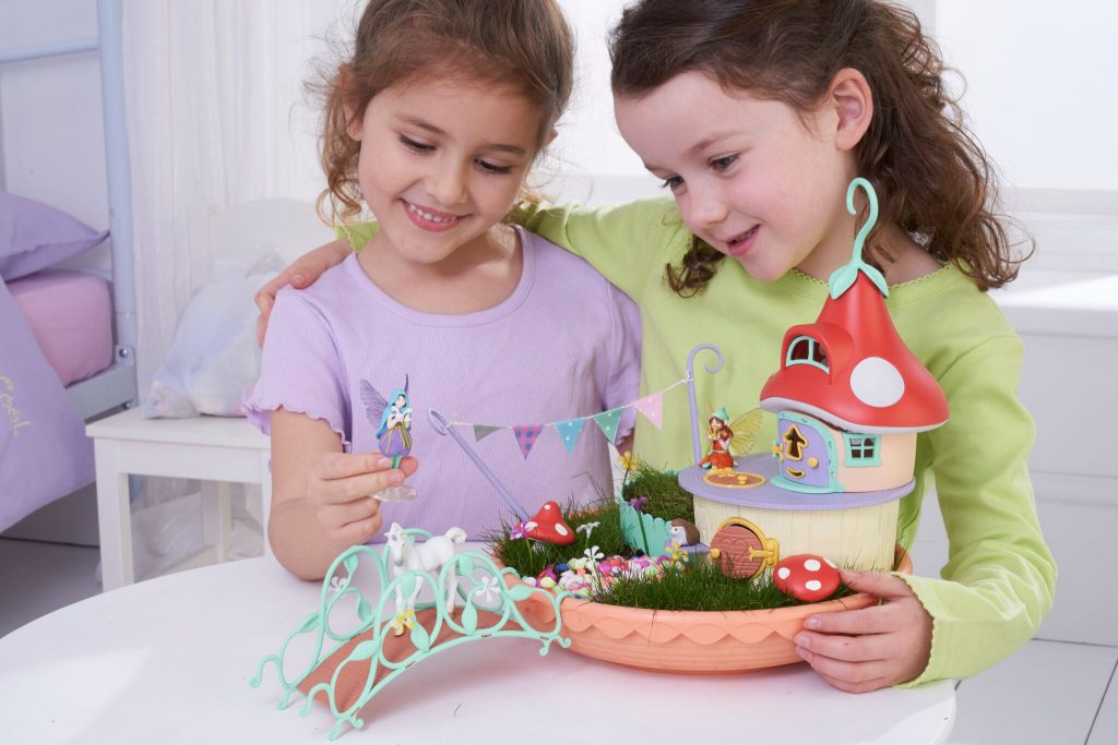 Fairy Light Garden lifestyle 2 girls