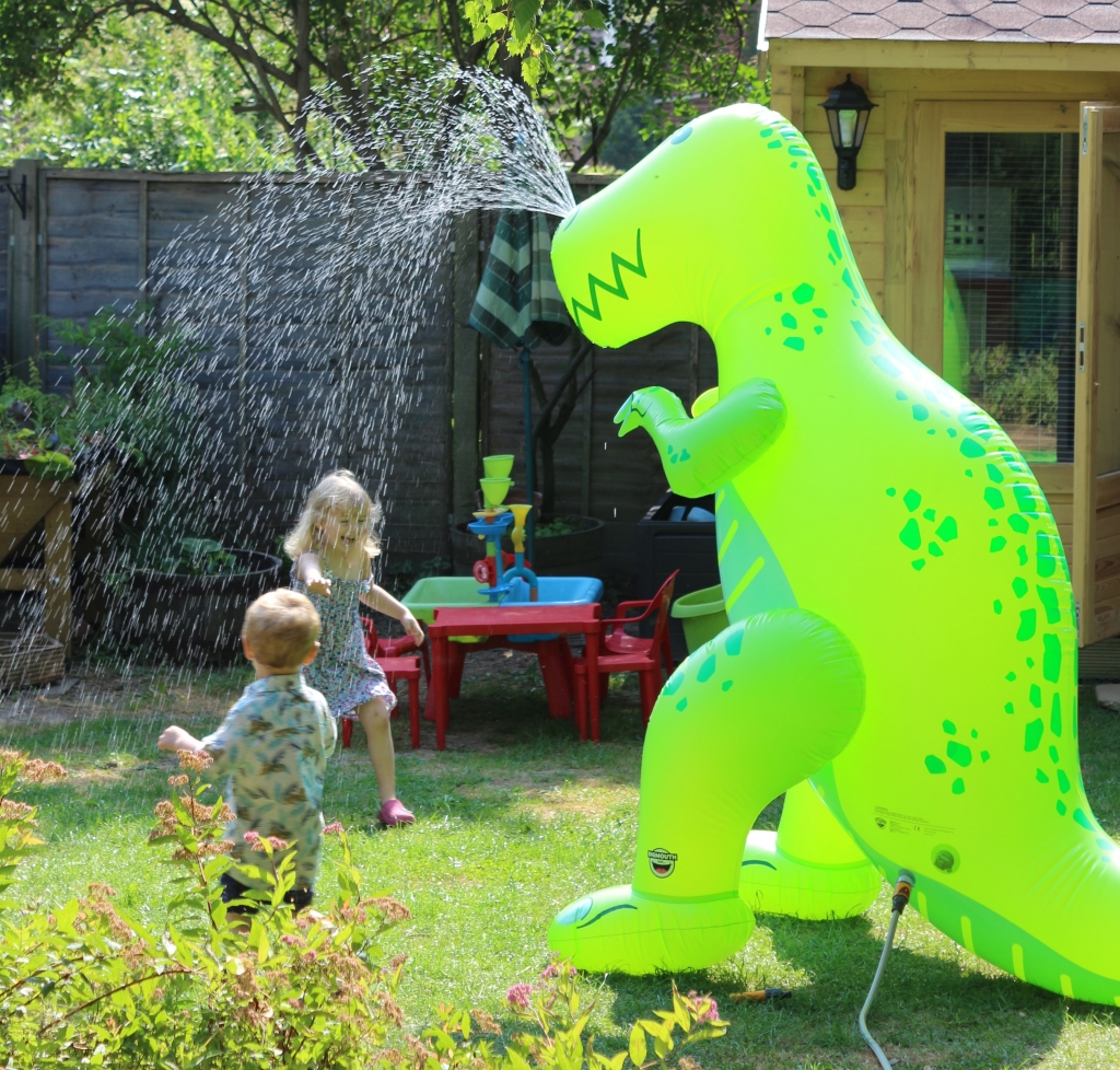Ginormous T-rex sprinkler from BigMouth inc Menkind (7)