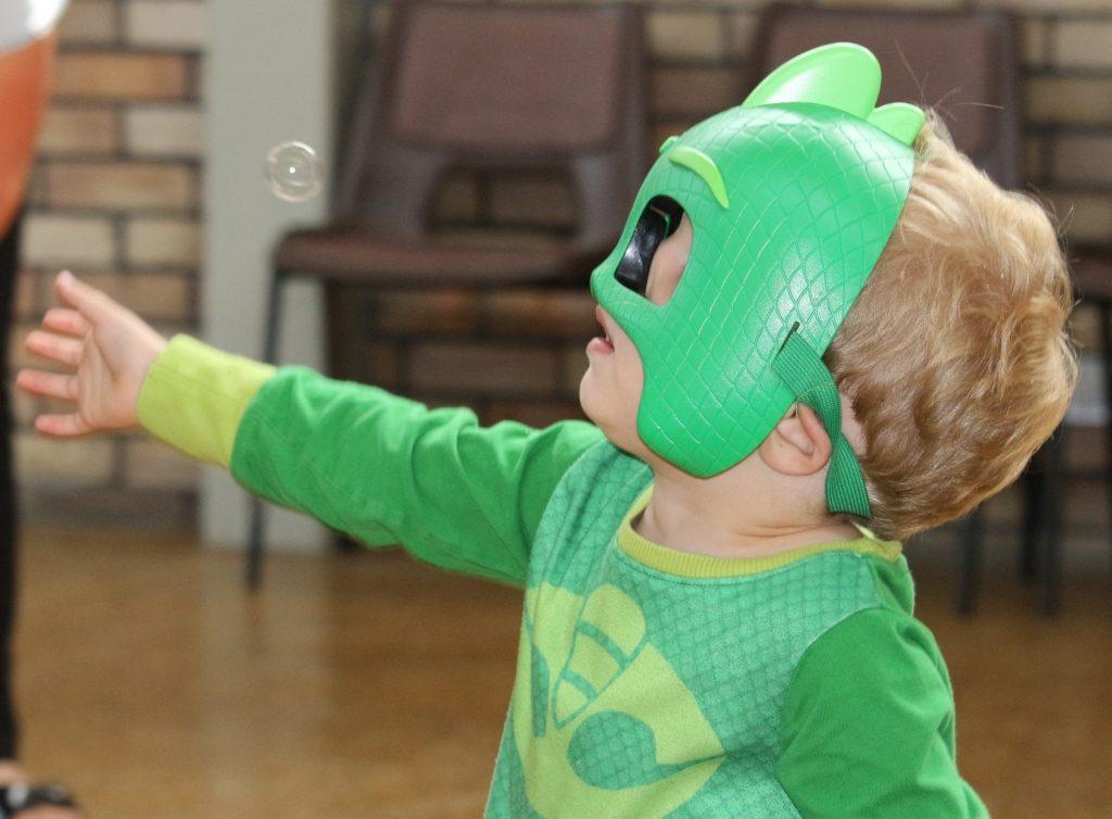 Bubble PJ Masks Youth Sport Trust National School Sport Week