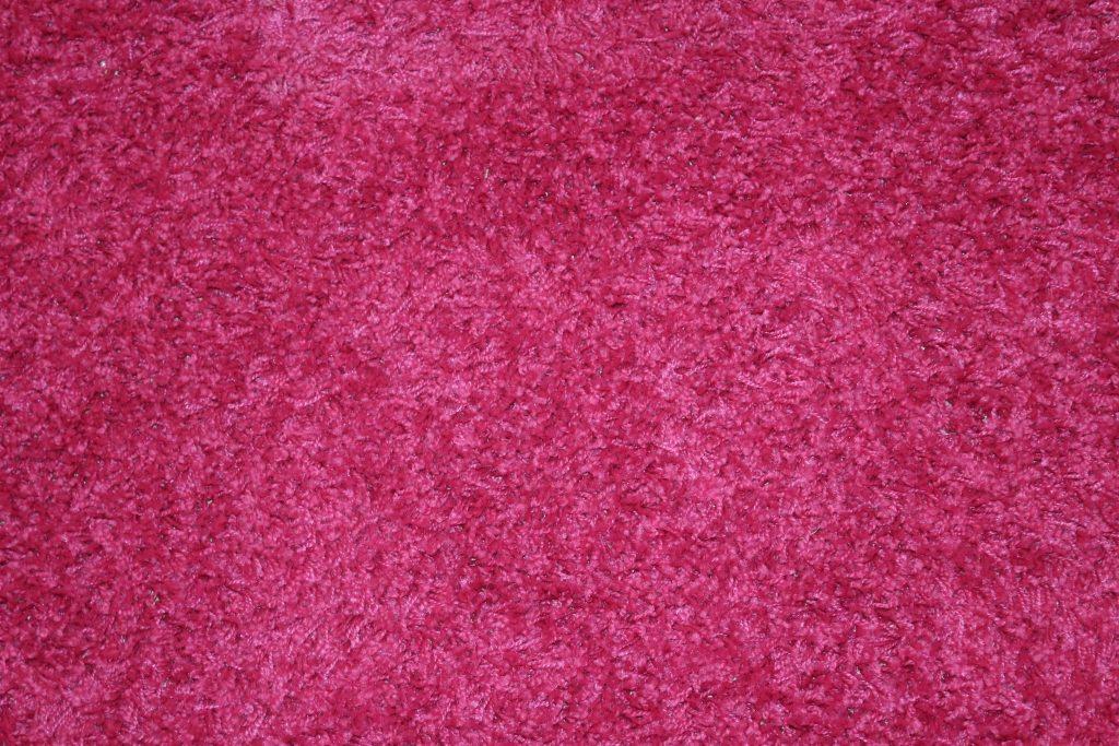 Ikea rug pink