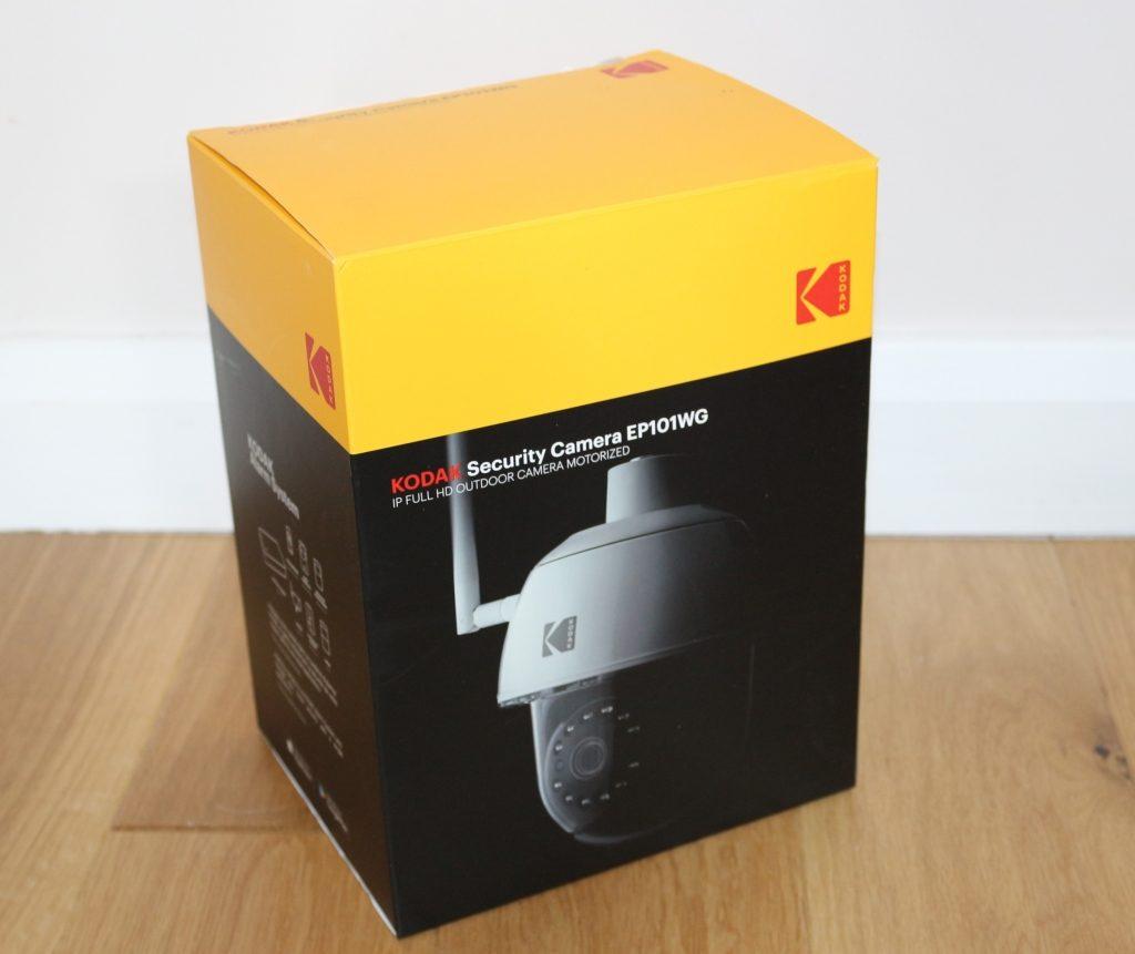 Home CCTV camera Kodak outdoor Security Camera EP101WG review