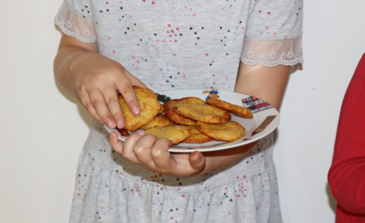 Recipes for kids to follow: Cheese biscuits