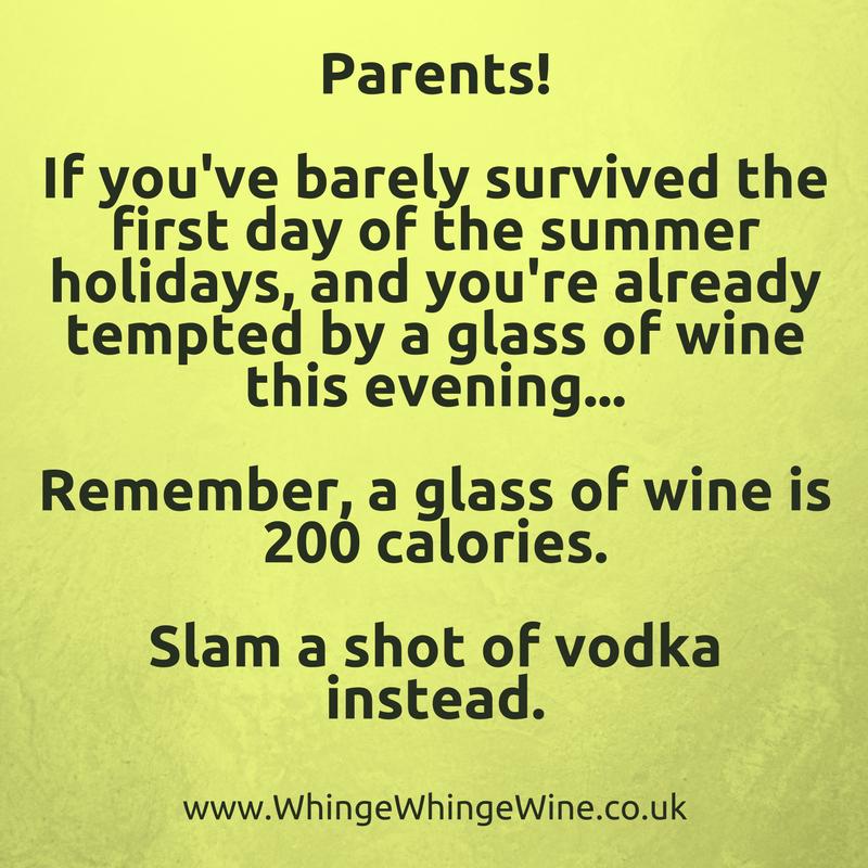 Parenting meme summer holidays