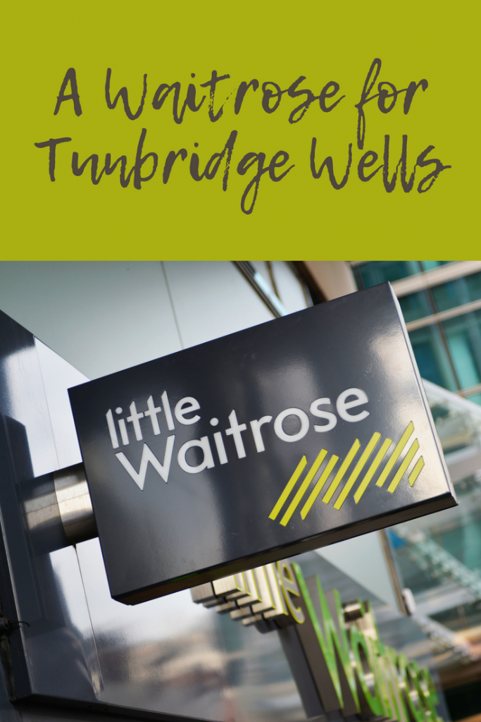 A new Little Waitrose opens in Tunbridge Wells on 17th August 2018 at the Shell Garage on St John's Road (A26)